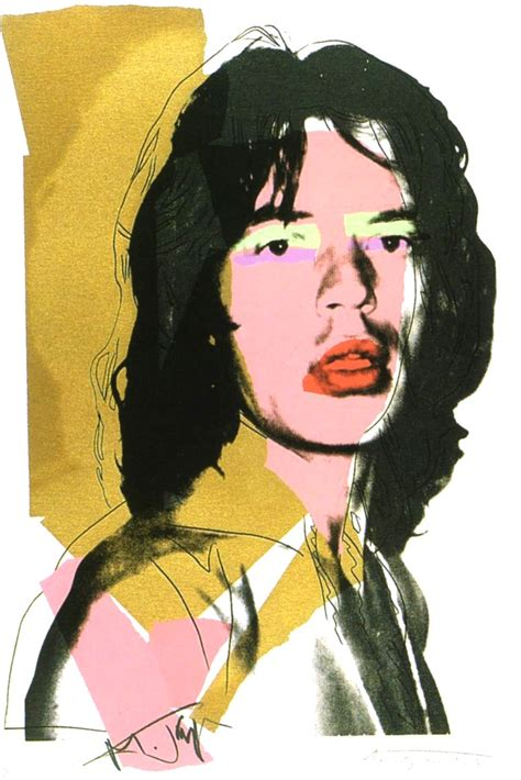 cheap paintings for sale andy warhol mick jagger 1975 print for sale hepner