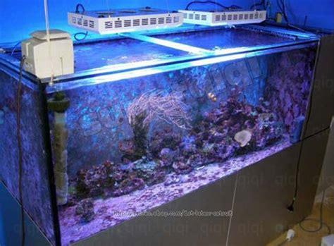 2pcs 215 120w dimmable brightnes led aquarium tank marine