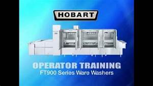 Hobart  Warewasher - Flight-type  Ft900