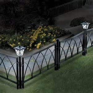 Decorative Garden Fence Border by Wood Fence Hardware Decorative Fences