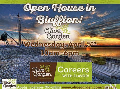 olive garden bluffton sc tanger olive garden open house bluffton