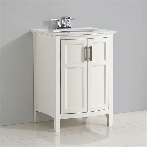 Rounded Bathroom Vanity by Simpli Home Winston 24 Quot Bath Vanity Rounded Front With