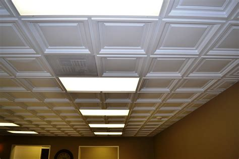 tin tiles for kitchen westminster coffered ceiling tile intersource