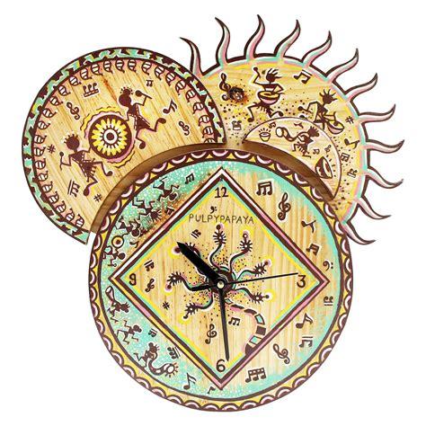 Clocks Home Decor by Warli Sun Clock Clocks D 233 Cor Home D 233 Cor World