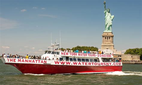 Boat Cruise Nyc Groupon by New York Water Tours Up To 53 New York Ny Groupon