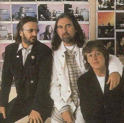 November 12 2001 The Three Living Beatles Met For The