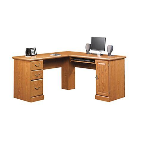 sauder orchard hills corner computer desk sauder orchard hills corner computer desk 30 14 h x 84 18