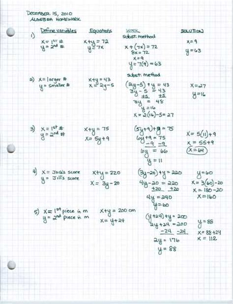 algebra word problems worksheet and answers 8th grade math word problems worksheets with answers