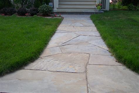 flagstone sidewalk straight walkway walkways pinterest flagstone walkway walkways and flagstone
