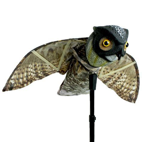 prowler owl decoy bird scaring device pigeon control india