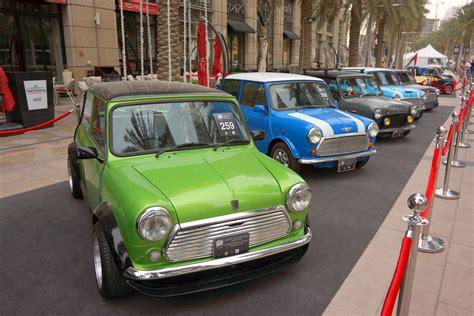 Mini Uae Classics Club At Emirates Classic Car Festival