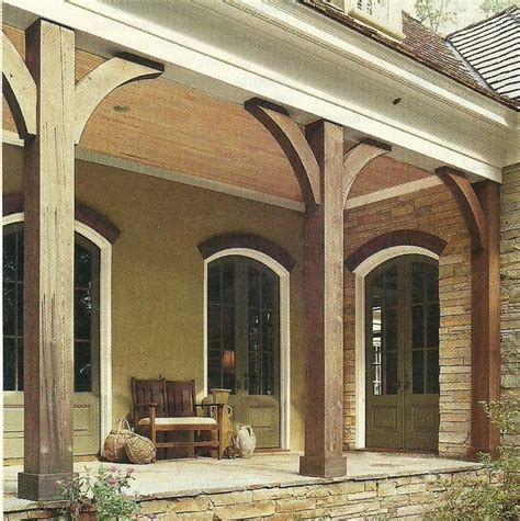 Porch Post Corbels by Bilderesultat For Cedar Columns For Front Porch Hage