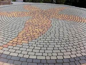 Pflastersteine Muster Bilder : pflastersteine f r auffahrt hof und wege material kosten farbe hausbau blog ~ Frokenaadalensverden.com Haus und Dekorationen