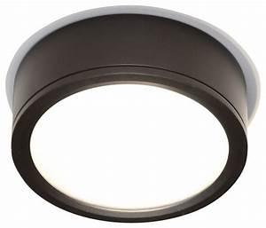 Tube indoor or outdoor led flush mount contemporary