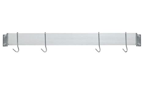 Cuisinart Brushed Stainless Wall Bar Pot Rack, 33-inch