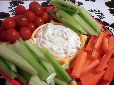 cuisine facile et originale recette de sauce apéritif fraiche pour crudité