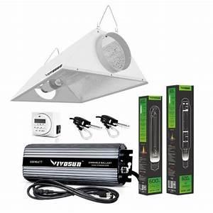 Grow Light Kits 178989  Vivosun 400w 600w 1000w Air Cooled