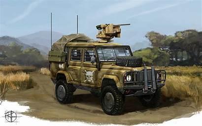 Vehicle Truck Vehicles Gun Trucks Wallpapers Military