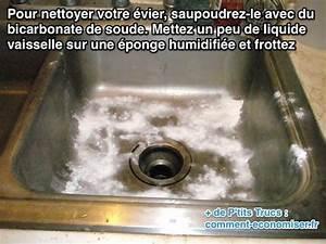 Comment Nettoyer Un Evier En Resine : comment nettoyer facilement son vier avec du bicarbonate ~ Dailycaller-alerts.com Idées de Décoration