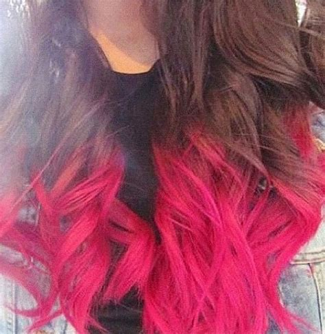Pink Dip Dye Hair Absolutely Stunning I Wanna Do This To