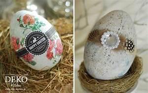 Ostereier Aus Gipsbinden : diy aus plastikeiern tolle deko ostereier zaubern deko kitchen ~ Eleganceandgraceweddings.com Haus und Dekorationen
