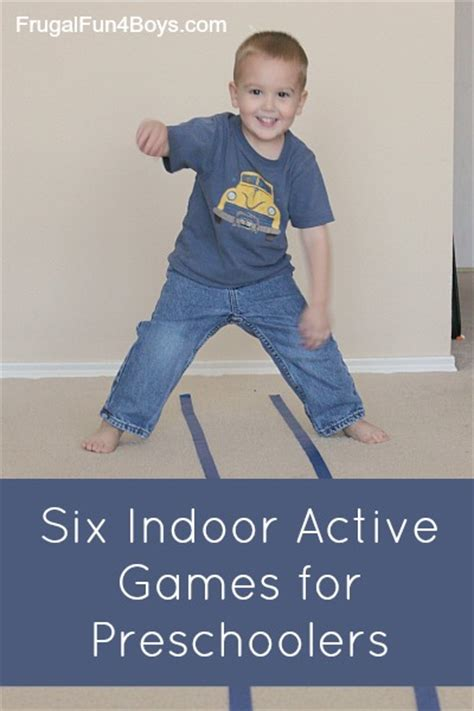 six indoor active for preschoolers 405 | Active Games 6