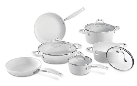 ceramic  white  induction colection ceramic  white induction collection cookware