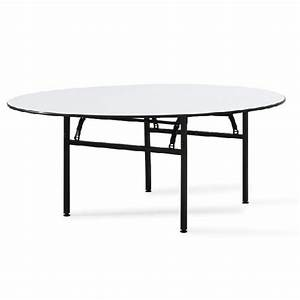 Table Pliante Ronde : table ronde pliante pour banquet ou r union tga t001 one mobilier ~ Teatrodelosmanantiales.com Idées de Décoration