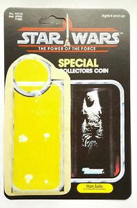 VINTAGE HAN SOLO IN CARBONITE KIT POWER OF THE FORCE LAST ...