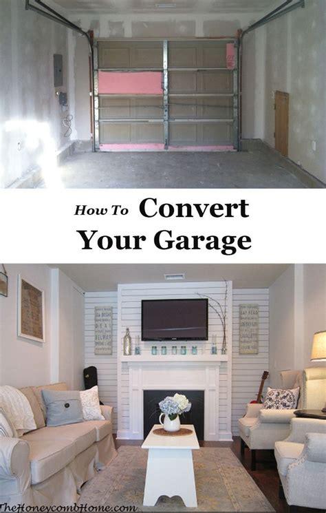 garage conversions images  pinterest garage