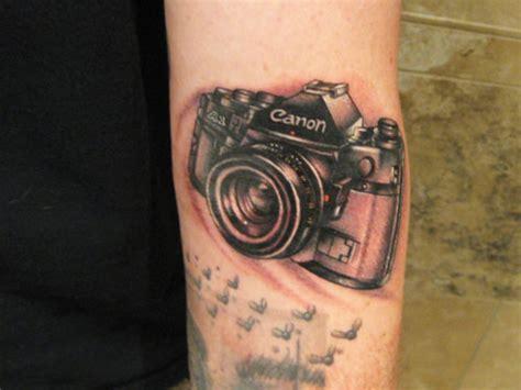 27 Encouraging Camera Tattoo Designs CreativeFan