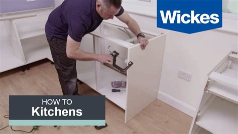 wickes kitchen island how to install base cabinets with wickes
