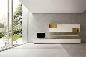Mazzini Sofas Avis : sectional tv wall system slim 2 by dall agnese design imago design massimo rosa ~ Melissatoandfro.com Idées de Décoration