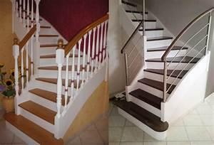 avant apres escalier et sa rambarde sur mesure par divinox With superb peindre des marches d escalier en bois 1 deco escalier ancien