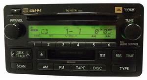 Radio Cd Kassette : toyota sequoia jbl radio stereo 6 disc changer tape ~ Jslefanu.com Haus und Dekorationen