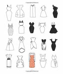 Easy to Draw Dresses Drawings