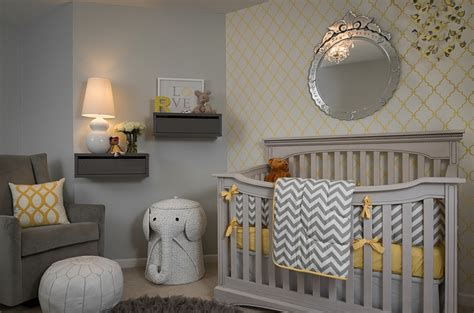 Yellow And Gray Bathroom Accessories by 21 Gorgeous Gray Nursery Ideas