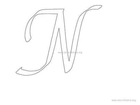 letter stencils to print the gallery for gt girly letter alphabet 9019