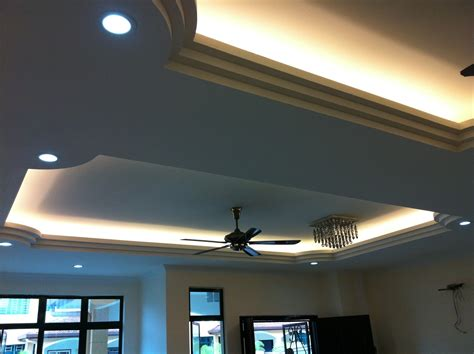 Cieling Lights by Uniceiling Ceiling With Light Trough