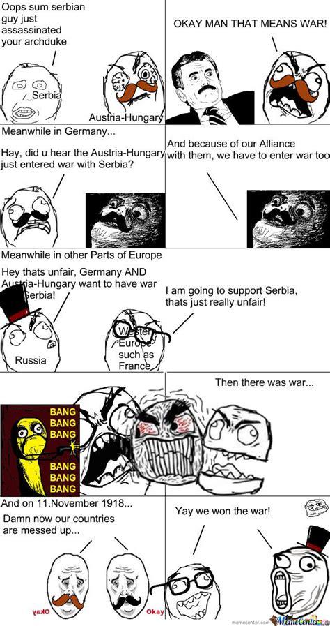 World War 1 Memes - world war 1 for dummies by 15382 meme center