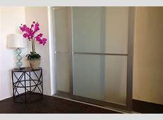 Sliding Closet Doors Acrylic & Glass