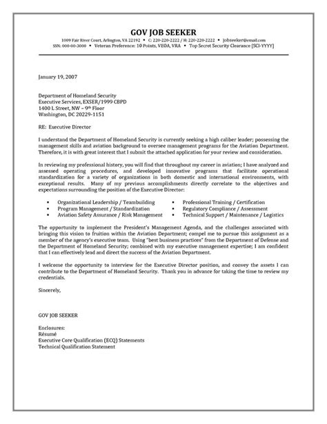 government resume cover letter examples http