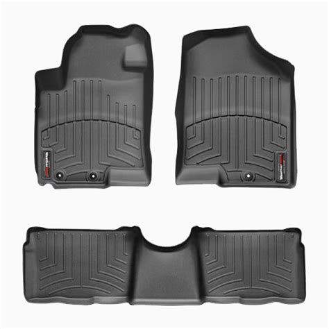 weathertech floor mats kia weathertech digitalfit floorliner floor mats for 15 14 13 12 11 kia soul