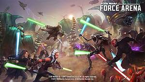 Star Wars: Force Arena 2.0 – The Upcoming Clone Wars ...