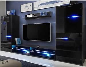 Meuble Tv Led Noir : javascript est d sactiv dans votre navigateur ~ Teatrodelosmanantiales.com Idées de Décoration