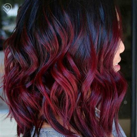 color rojo vino cabello vino es el nuevo color que debes probar este 2018