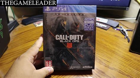 call  duty black ops  pro edition  days early ps