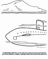 Submarine Coloring History Military Printable Sheets Boat Boats Printing Timeline Raisingourkids Kid sketch template