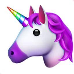 Unicorn Face Emoji (u+1f984