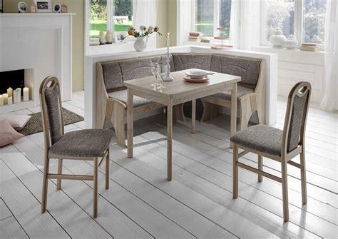 coin repas avec banquette d angle rosenheim gris beige sb meubles discount